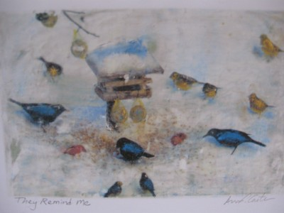 Kansas artist, encaustic